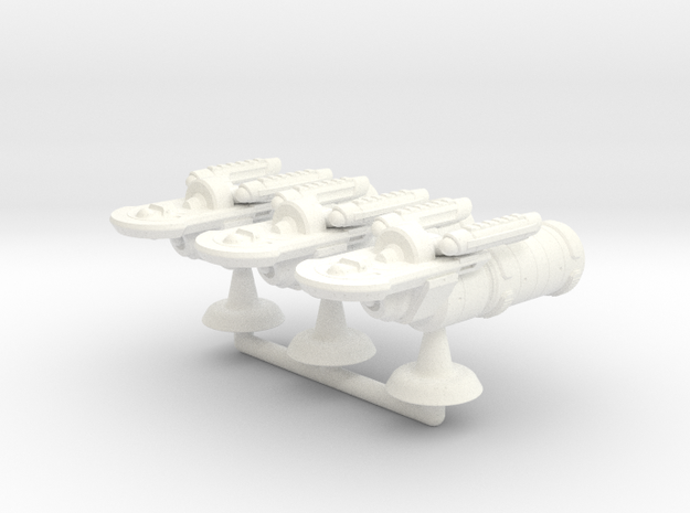 Tarsus Transport Squadron - 1:7000 in White Processed Versatile Plastic