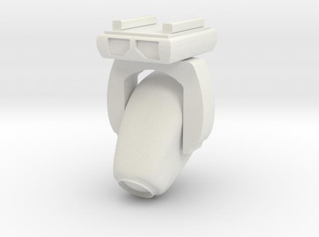 1:32 Angled VL3500 Moving Light 45° in White Natural Versatile Plastic