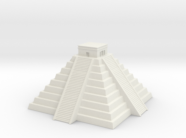 Chichen Itza 1/1000 in White Natural Versatile Plastic