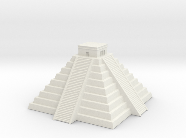 Chichen Itza 1/1200 in White Natural Versatile Plastic