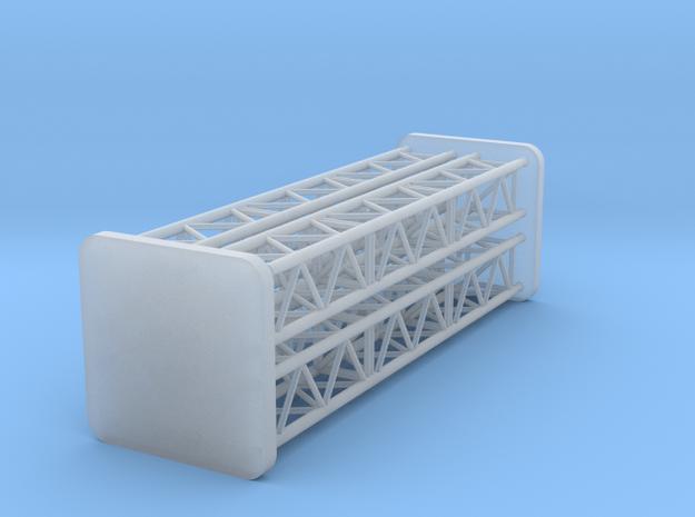 4x Eckpfosten 1 v4 in Smooth Fine Detail Plastic