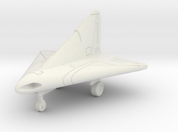 (1:144) Lippisch P.13 (September 1944 Design) in White Natural Versatile Plastic