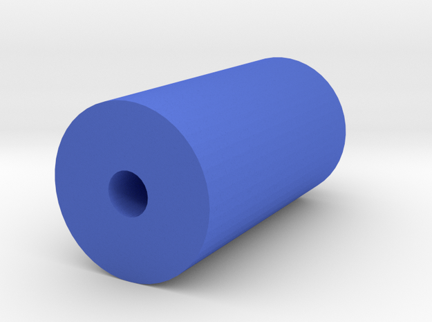 J.W. Cheetah Suppressor (14mm-) in Blue Processed Versatile Plastic