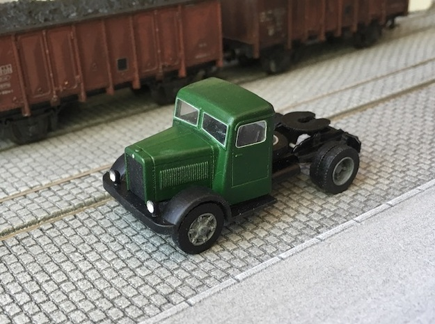 Berliet TDR 1936-1949 in Smooth Fine Detail Plastic