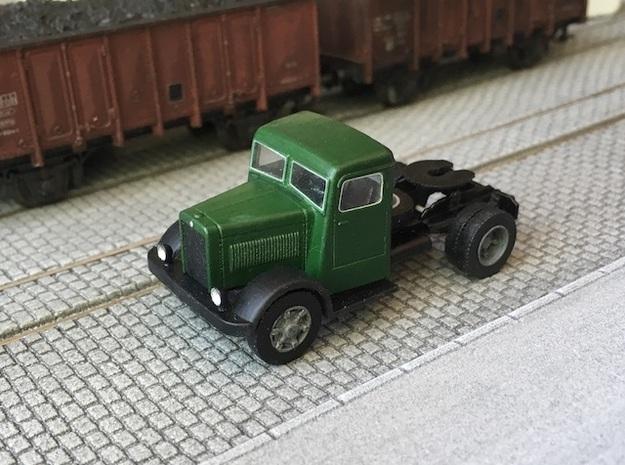 1:87 Berliet TDR 1936-1949 in Smooth Fine Detail Plastic
