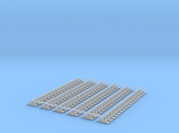 Kette 2 steg 15 mm Breite, 5 mm Turasbreite, 102 G in Smooth Fine Detail Plastic