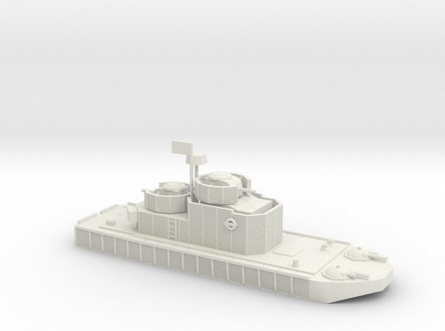 1/200 Program 5 Flamethrower River Boat in White Natural Versatile Plastic