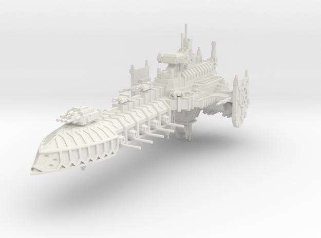 Barcaza de Batalla Corrupta B in White Natural Versatile Plastic