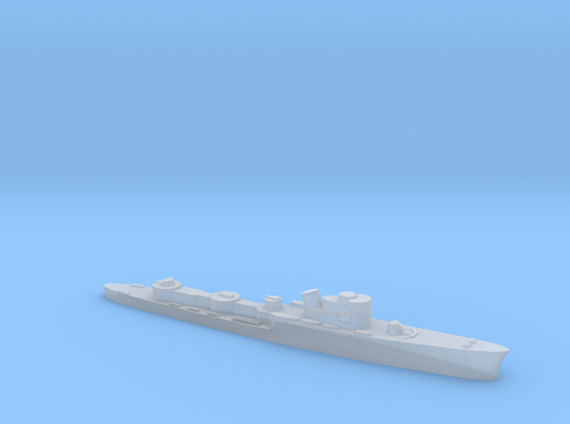 Italian Ciclone WW2 torpedo boat 1:3000 in Smoothest Fine Detail Plastic