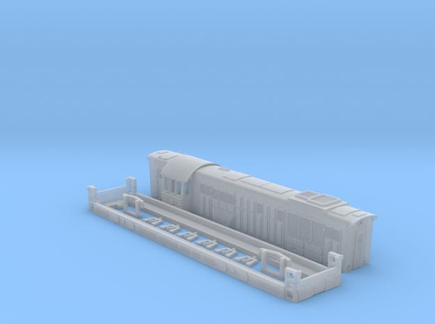 Chme 3  diesel locomotive Russian Ussr  in Smoothest Fine Detail Plastic