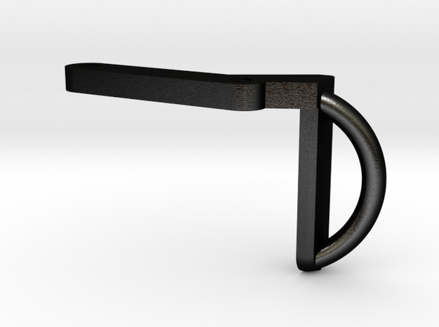 Deranged Masada fixed stock sling in Matte Black Steel