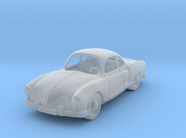 VW Karmann Ghia  1:87 HO in Smooth Fine Detail Plastic