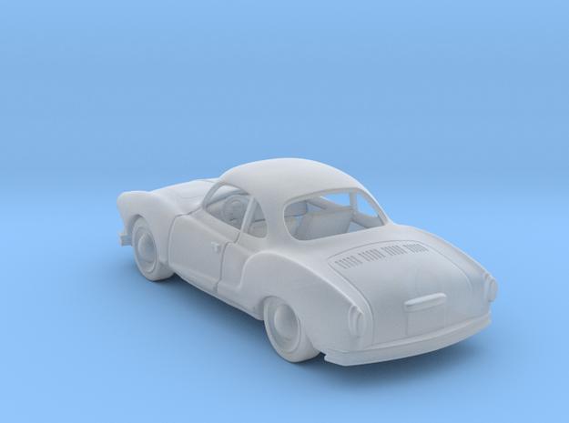 VW Karmann Ghia  1:120 TT in Smooth Fine Detail Plastic