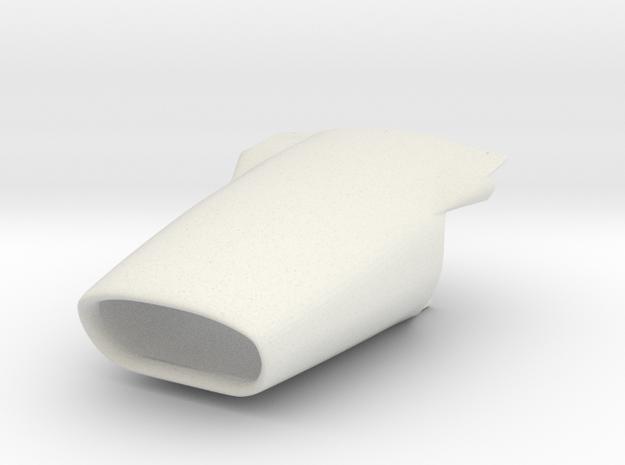 1/8 Lotus 49 1967 nose in White Natural Versatile Plastic