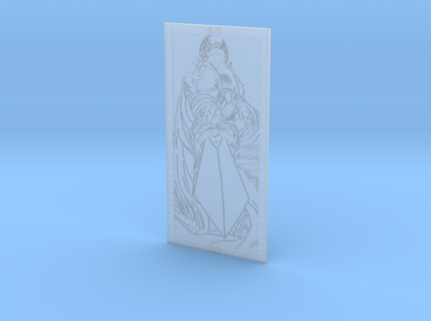 Emperor of Mankind - Stained-Glass Window  in Smooth Fine Detail Plastic
