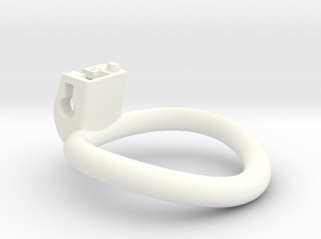 Cherry Keeper Circular Ring - 45mm in White Processed Versatile Plastic
