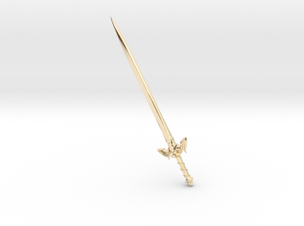 sword in 14K Yellow Gold