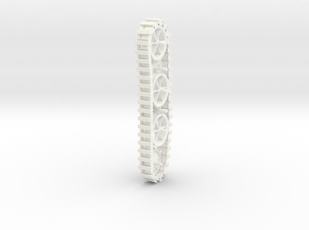 Kettenkrad CHEN D in White Processed Versatile Plastic