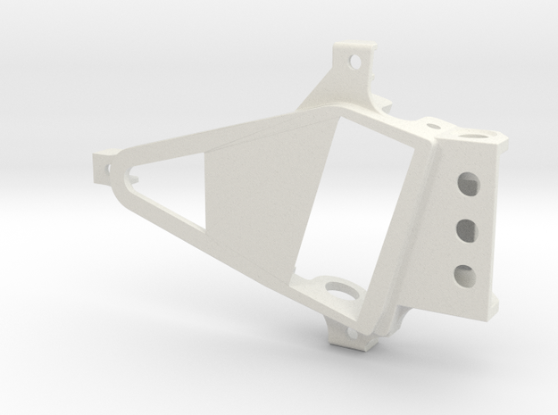 PSXX00301 motor mount Box OF05 in White Natural Versatile Plastic