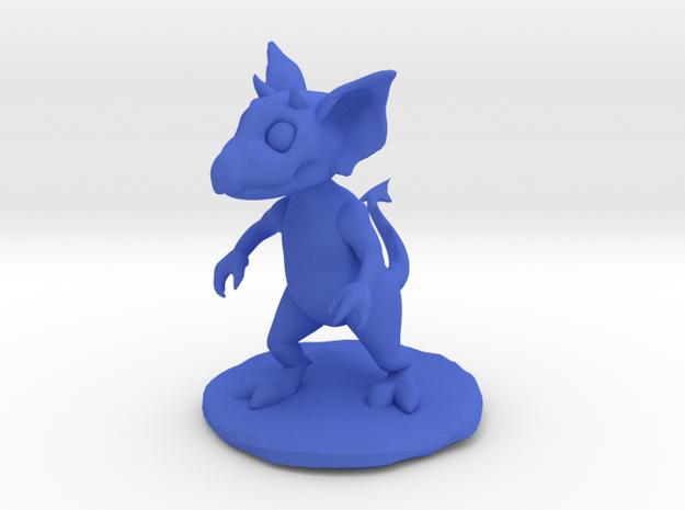 Kobold Miniature in Blue Processed Versatile Plastic