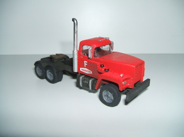 "1/87 ""HO"" scale 1965 Sicard B-6430 truck tractor in Frosted Ultra Detail: 1:87 - HO"