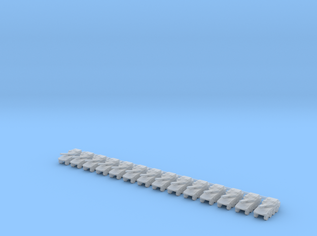 1/700 Maneuver Combat Vehicle (x14) in Smooth Fine Detail Plastic