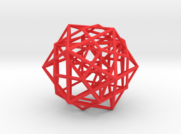 Nested Polyhedra 3d printed