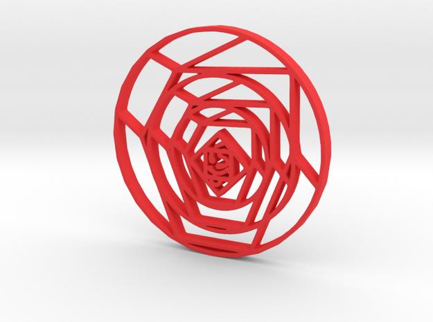 Cubist Rose 3d printed