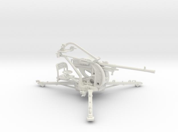 1/32 Breda 20mm 65 caliber Single mount Army AA in White Natural Versatile Plastic