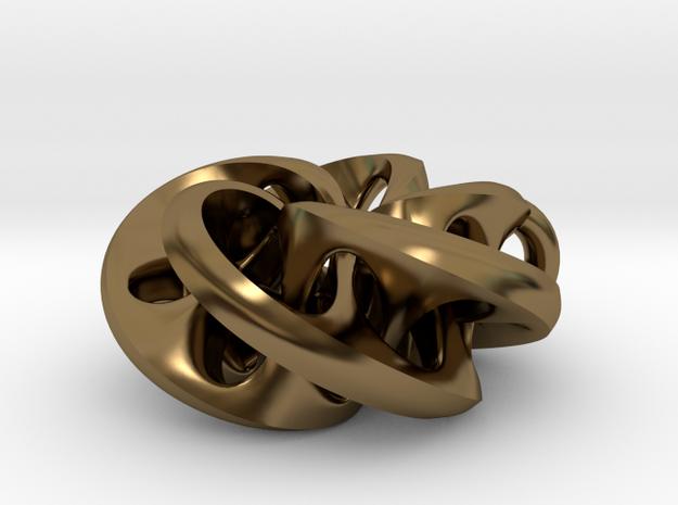 Moebius II, pendant 3d printed