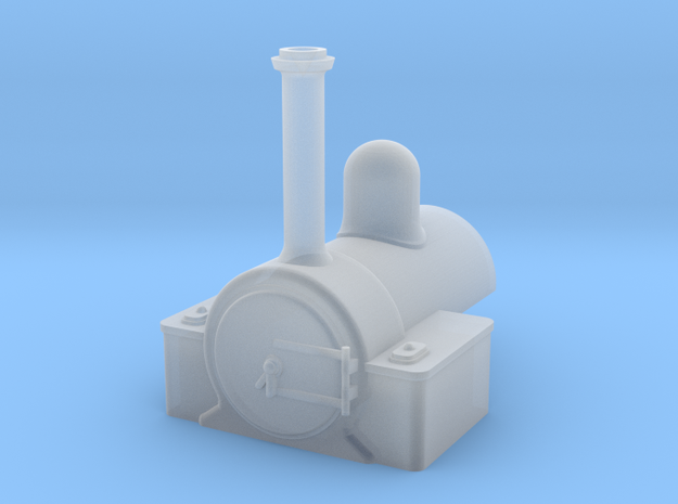 009 'Tiny Trains' Low Wing tank in Smooth Fine Detail Plastic
