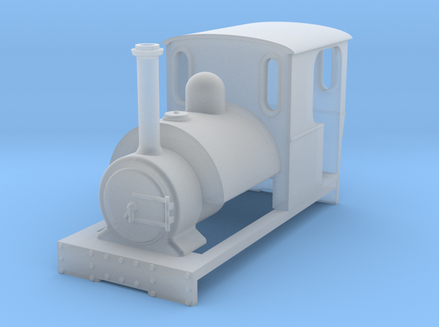 009 'Tiny Trains' Preset Saddle Tank in Smooth Fine Detail Plastic