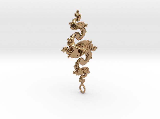 Dragon Pendant 4cm 3d printed