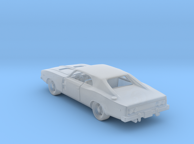 Dodge Charger RT 1968  1:120 TT in Smooth Fine Detail Plastic
