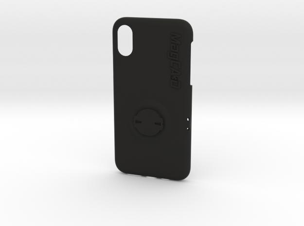 iPhone XS Garmin Mount Case - 55mm in Black Natural Versatile Plastic
