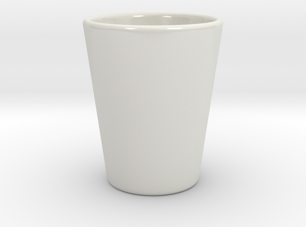 Shot Glass (ceramic) 3d printed