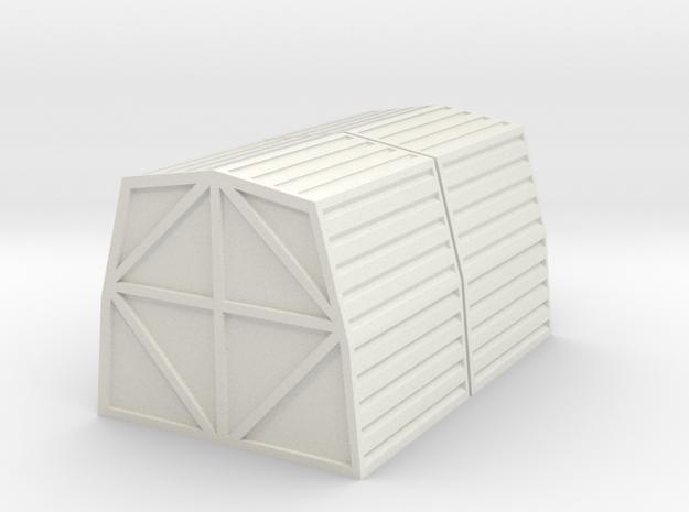 1:72 Cargo Pod x 2 in White Natural Versatile Plastic