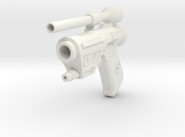 SoroSuub SSK Heavy Blaster Replica in White Natural Versatile Plastic