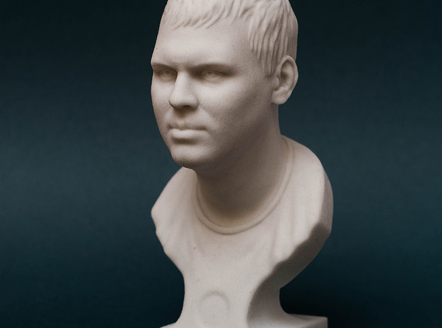 Male Bust (Dmitry) in Natural Sandstone