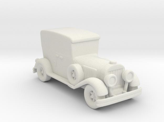 Wacky Racer BULLITPROOF BOMB 160 scale in White Natural Versatile Plastic