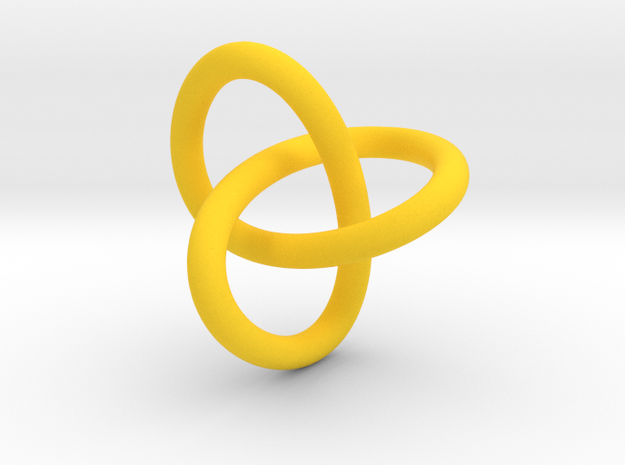 Classic Trefoil Knot 30mm 3d printed