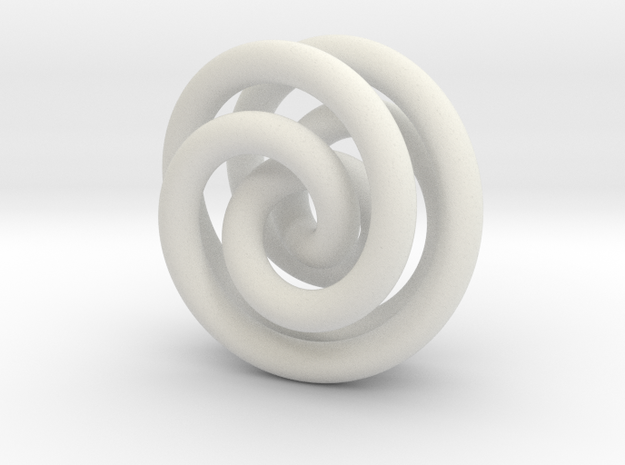 Torus Knot A 2inch 3d printed