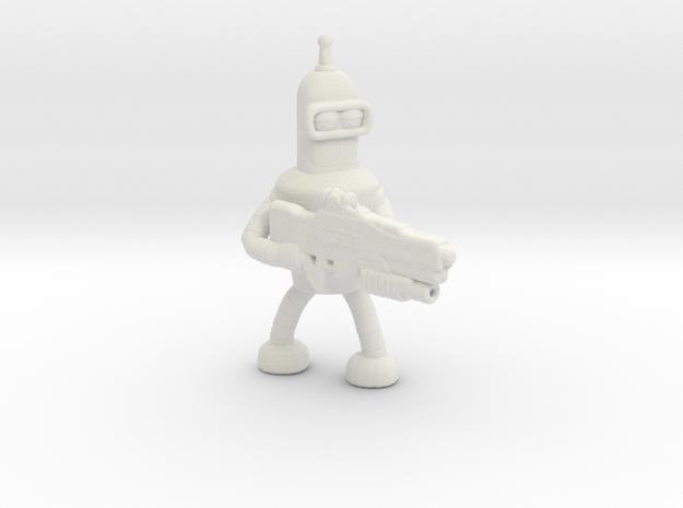 Futurama Bender Survivor miniature for games rpg