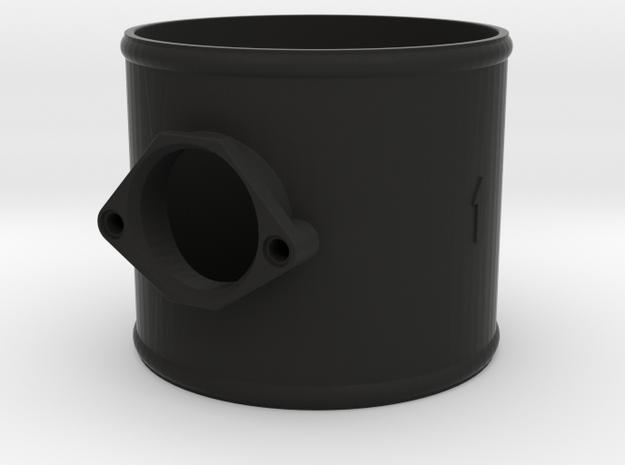 100mm adaptor Bosch air meter in Black Natural Versatile Plastic