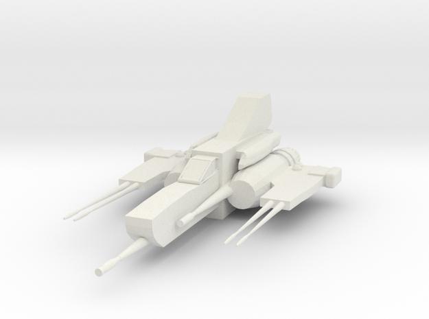 HeavyColonialViperModifier1 in White Natural Versatile Plastic