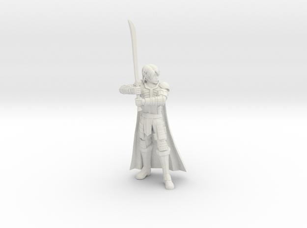 Elf Champion in White Natural Versatile Plastic