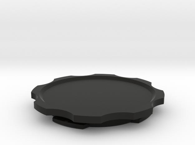 Quad Lock-PopSocket Original Adapter in Black Natural Versatile Plastic