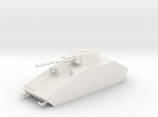 Weapon Platform in White Natural Versatile Plastic