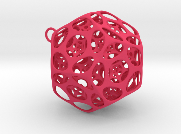 Dodecahedron Ornament 2 3d printed