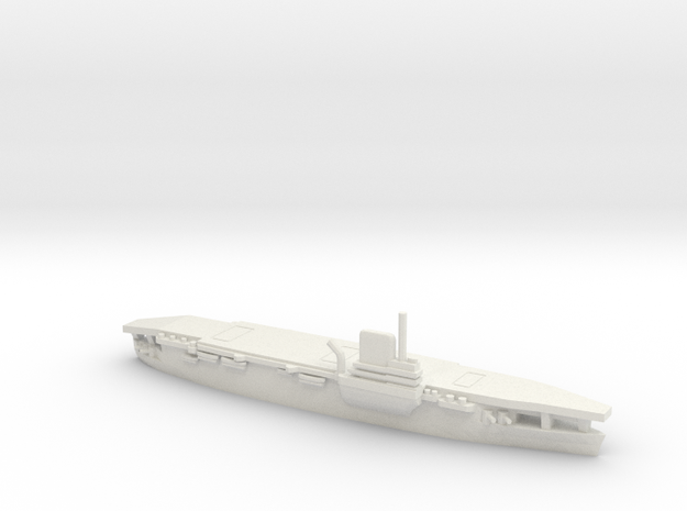 French Aircraft Carrier Bearn in White Natural Versatile Plastic